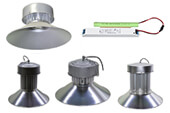 Светодиодные светильники Хайбей с БАП