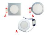 Ультратонкие светодиодные светильники с БАП