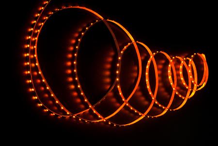 фото: Светодиодная лента 3528 60 диодов 12 вольт IP33 желтая