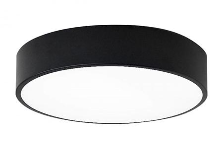 Круглый светодиодный светильник LC-KSS-D600 40W Теплый белый Опал