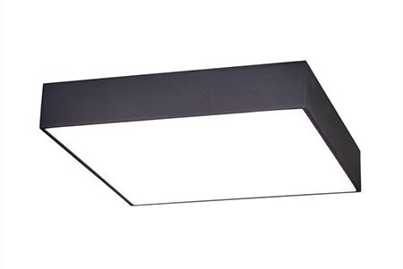 Квадратный светодиодный светильник LC-KSS-K600 40W Теплый белый Опал