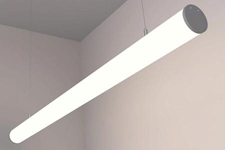 Светодиодный светильник Ledcraft LC-LP-1135 20W 580 мм Опал Теплый белый