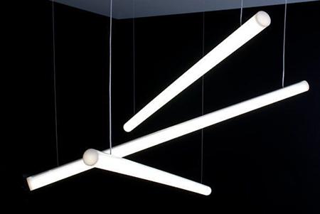 Светодиодный светильник Ledcraft LC-LP-1970 120W 2280 мм Опал Теплый белый