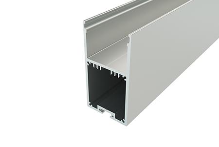 Профиль накладной алюминиевый LC-LP-6735-2 Anod