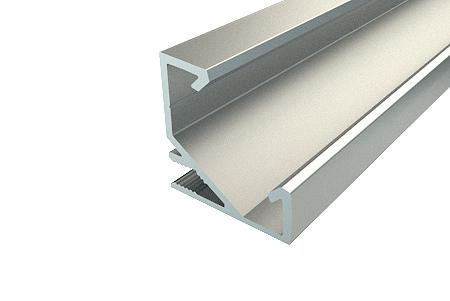 Профиль угловой алюминиевый LC-LPU-1717-2 Anod
