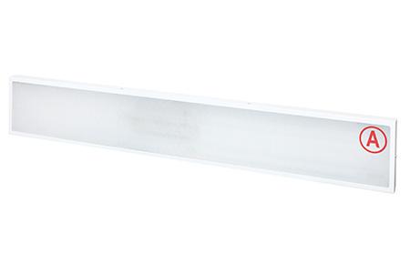 Накладной светильник LC-NS-40-WW ватт 1195*180 Теплый белый Призма с Бап-1 час