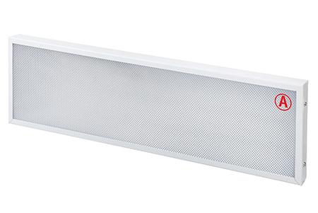 Накладной светильник LC-NSM-40K ватт 595*295 Теплый белый Призма Бап 3 часа