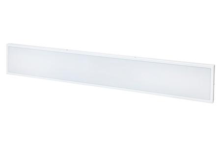 Универсальный офисный светодиодный светильник 80 Вт 1195x295 4000K IP44 Опал