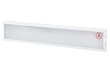 Накладной светильник узкий LC-NSU-10 ватт 595*110 Холодный белый Призма с Бап
