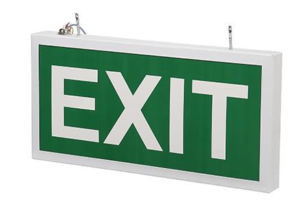 Светодиодный эвакуационный указатель LC-SIP-E27-3015 Exit 320х150 мм