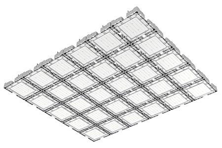 Туннельный модульный светильник  LC-TMS-125125-900W-W 125*125 См Холодный белый