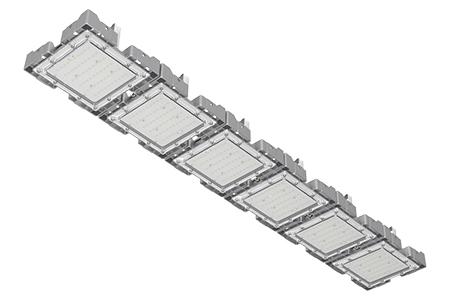 Туннельный модульный светильник  LC-TMS-25125-150W-W 25*125 См Теплый белый