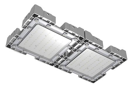 Туннельный модульный светильник LC-TMS-2550-100W-DW 25*50 См Нейтральный белый