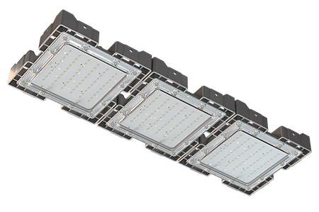 Туннельный модульный светильник LC-TMS-2575-150W-W 25*75 См Теплый белый