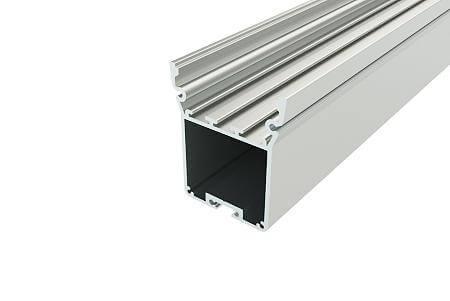 Алюминевый профиль для светильников АВД-4095 (6 метров хлыст) анод