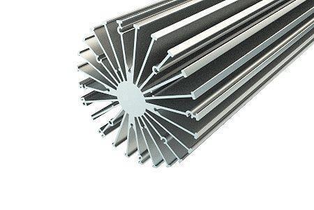 Алюминевый профиль для Купола АВД-3242 (6 метров хлыст) анодированный