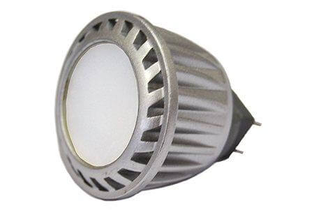 Светодиодная лампа LEDcraft 120 MR11(GU4) 3 Ватт 220 Вольт Теплый белый