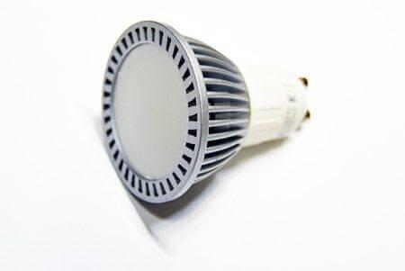 Светодиодная лампа LEDcraft 120 MR16(GU10) 5 Ватт 220 Вольт Теплый белый