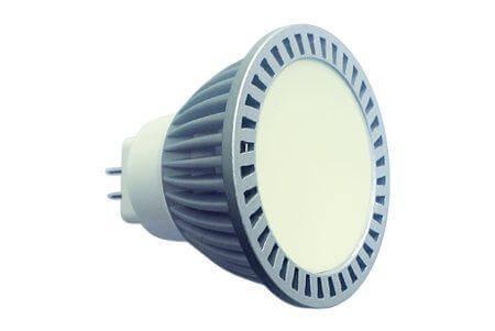 Светодиодная лампа LEDcraft 120 MR16(GU5,3) 7 Ватт 220 Вольт Теплый белый