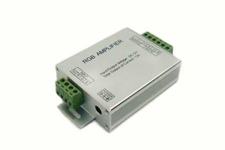 Усилитель для RGB контроллера, 3 канала, 12-24В, 4А/канал