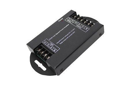 Усилитель для RGB контроллера, 3 канала, 12/24V, 3А/канал