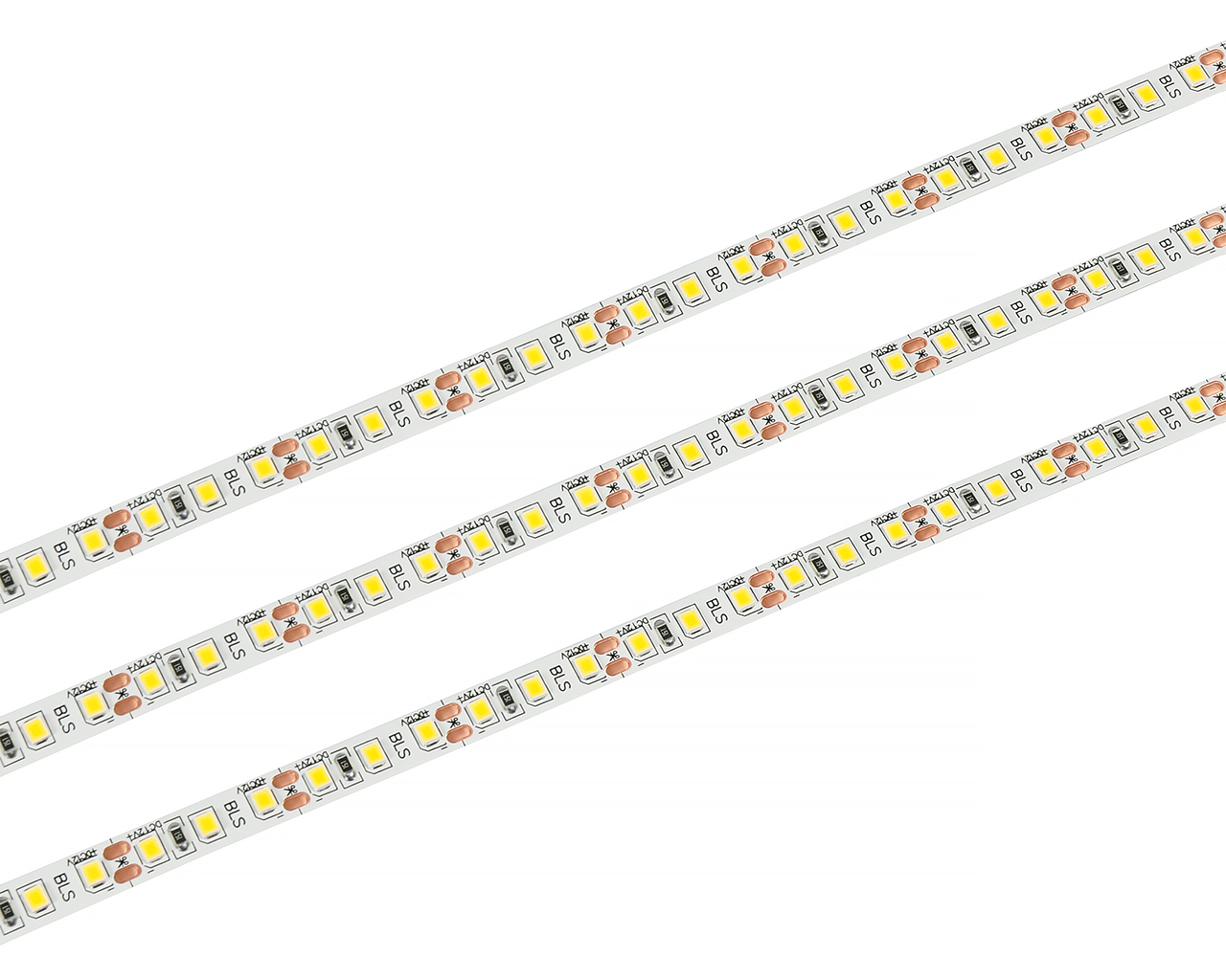 Светодиодная лента LEDcraft SMD 2835 9.6 Ватт на метр 120 диодов на метр IP 33 Теплый белый