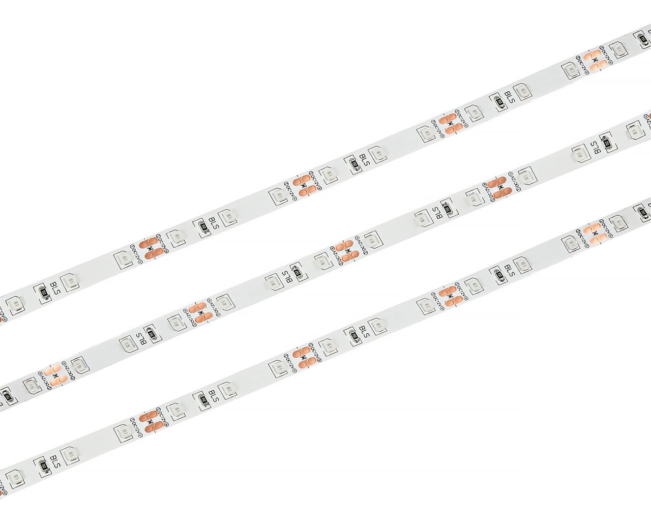 Светодиодная лента LEDcraft SMD 2835 4,8 Ватт на метр 60 диодов на метр IP 33 Теплый белый