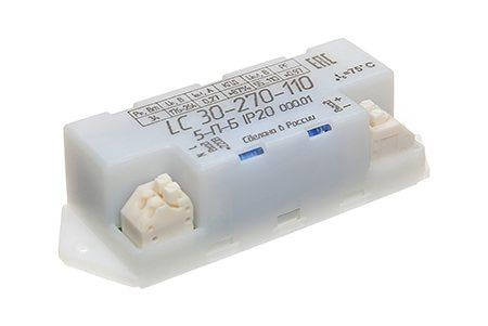 Драйвер для светильника LC-30-270Д-55-110-5-П-Б IP20 000.01
