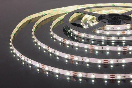 Светодиодная лента 3528 60 диодов 12 вольт IP33 4000K