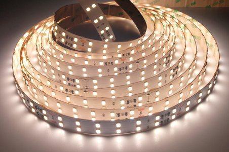Светодиодная лента LEDcraft SMD 3528 19.2 Ватт на метр 240 диодов на метр IP 33 Нейтральный белый