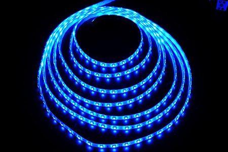 Светодиодная лента LEDcraft SMD 3528 4,8 Ватт на метр 60 диодов на метр IP 65 Синий