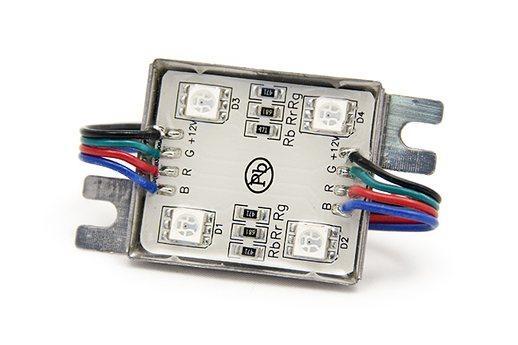 Светодиодный модуль LEDcraft 4 LED 5050 0,8 Вт Мультиколор