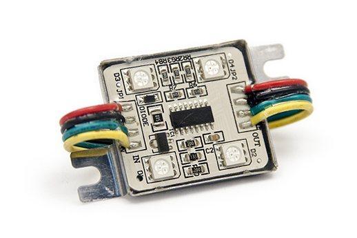 Светодиодный модуль RGB LEDcraft 4 LED 5050 0.8 Ватт Мультиколор