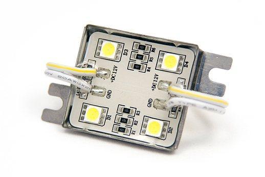 Светодиодный модуль LEDcraft 4 LED 5050 0,72 Вт Холодный белый