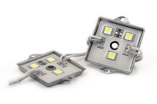 Светодиодный модуль LEDcraft 3 LED 5050 0,72 Вт Желтый