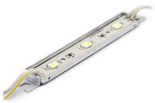 Светодиодный модуль LEDcraft 3 LED 5050 0,8 Ватт  Желтый