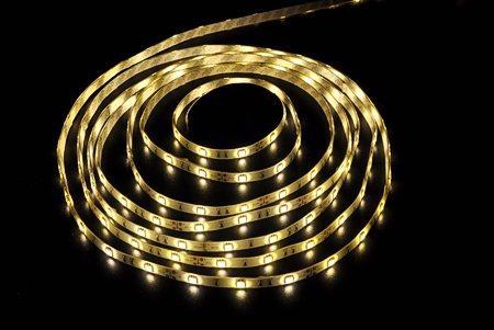 Светодиодная лента LEDcraft SMD 5050 7.2 Ватт на метр 30 диодов на метр IP 65 Теплый белый