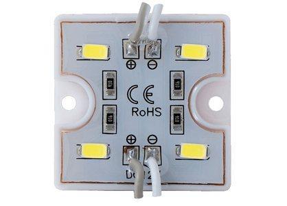 Светодиодный модуль LEDcraft 4 LED 5630 0,72 Вт Теплый белый