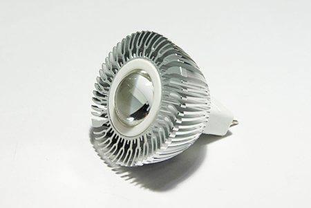 Светодиодная лампа LEDcraft 60 MR16(GU5,3) 3 Ватт 12 Вольт Теплый белый