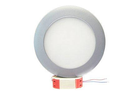 LEDcraft Downlight Серый Круглый 180*180*23 10 Ватт Теплый белый