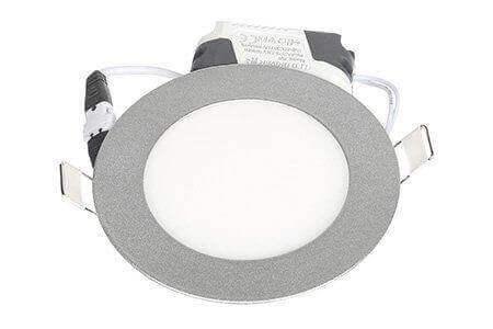 LEDcraft Downlight Серый Круглый 120*120*23 7 Ватт Холодный белый