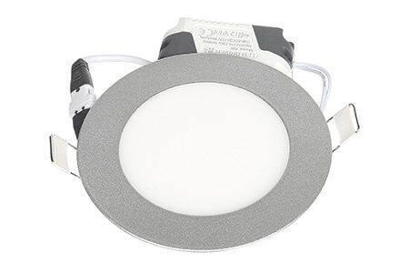 LEDcraft Downlight Серый Круглый 120*120*23 7 Ватт Теплый белый