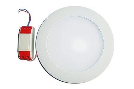 LEDcraft Downlight Белый Круглый 180*180*23 10 Ватт Теплый белый