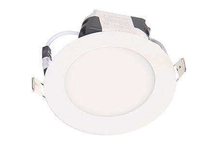 LEDcraft Downlight Белый Круглый 120*120*23 7 Ватт Теплый белый