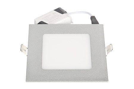 LEDcraft Downlight Серый Квадратный 120*120*23 7 Ватт Холодный белый