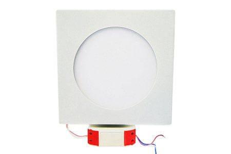 LEDcraft Downlight Белый Квадратный 180*180*23 10 Ватт Теплый белый