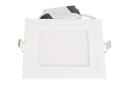 LEDcraft Downlight Белый Квадратный 120*120*23 7 Ватт Теплый белый