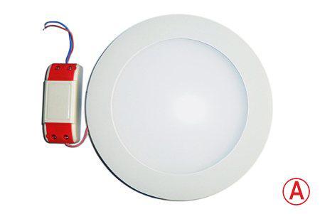 LEDcraft Downlight Белый Круглый 170*170*23 12 Ватт Теплый белый с БАП