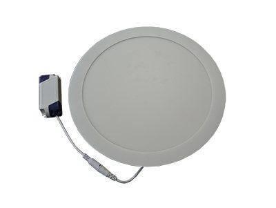 LEDcraft Downlight Серый Круглый 300*300*23 24 Ватт Теплый белый