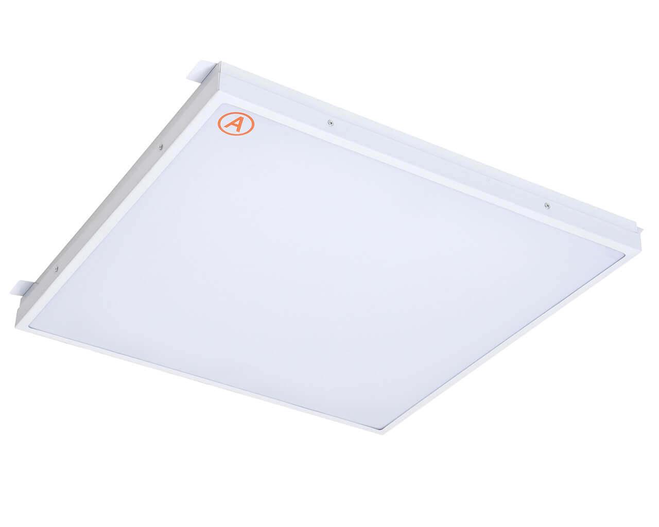 Встраиваемый светильник LC-GIP-40-OP 580x580 Теплый белый Опал с Бап-3 часа